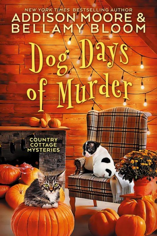 Dog Days of Murder (Country Cottage Mysteries 2)