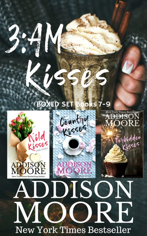 3:AM Kisses Boxed Set Books 7-9