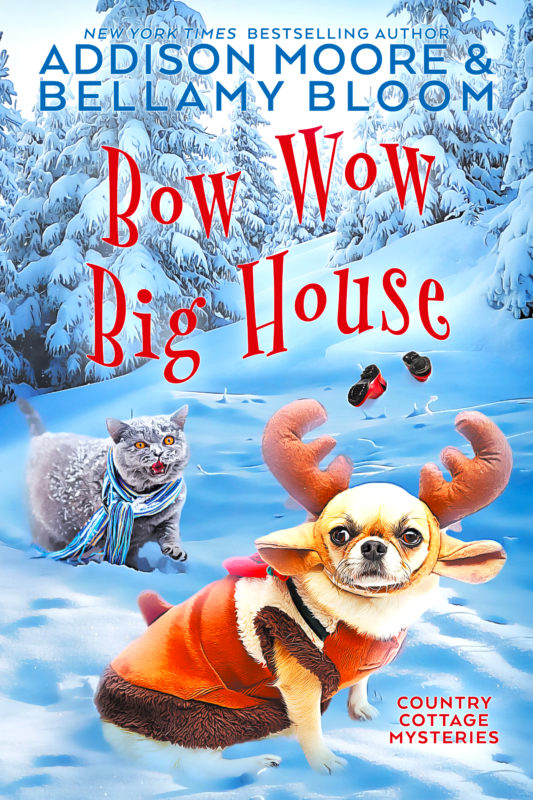 Bow Wow Big House (Country Cottage Mysteries 4)