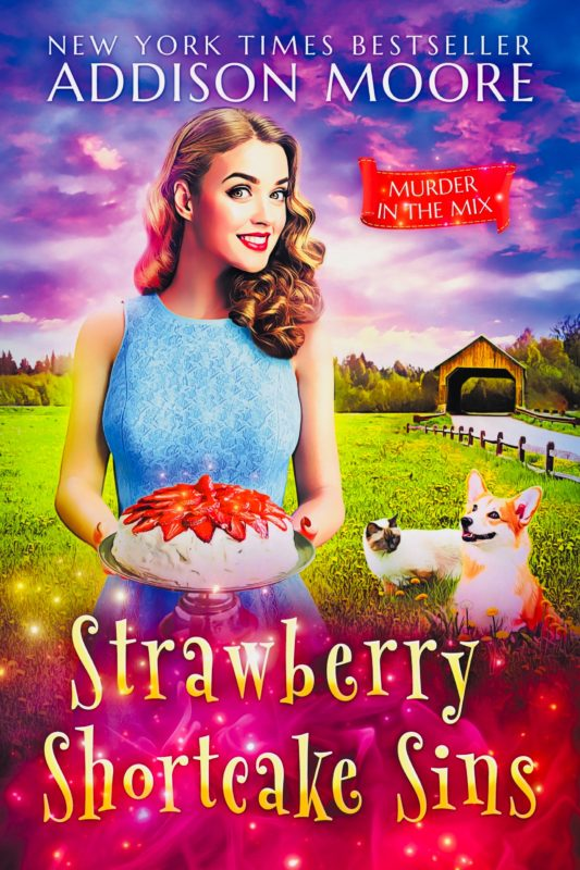 Strawberry Shortcake Sins (Murder in the Mix 20)