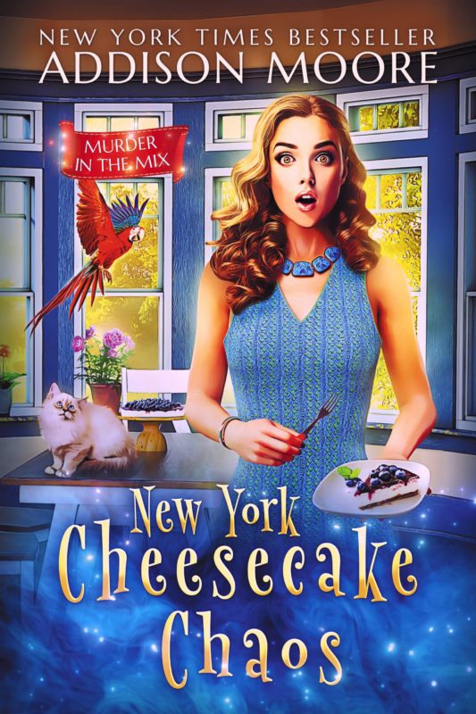 New York Cheesecake Chaos (Murder in the Mix 8)